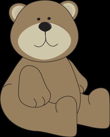 Brown Bear clipart Bear Brown Image Bear Sitting