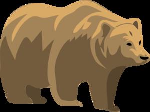 Brown Bear clipart Bear Brown online Bear Clip