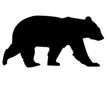 Black Bear clipart bear hunt Bear Etsy Decal Black Bear