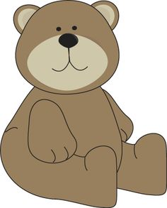 Brown Bear clipart bee Sitting on Bear bears Brown
