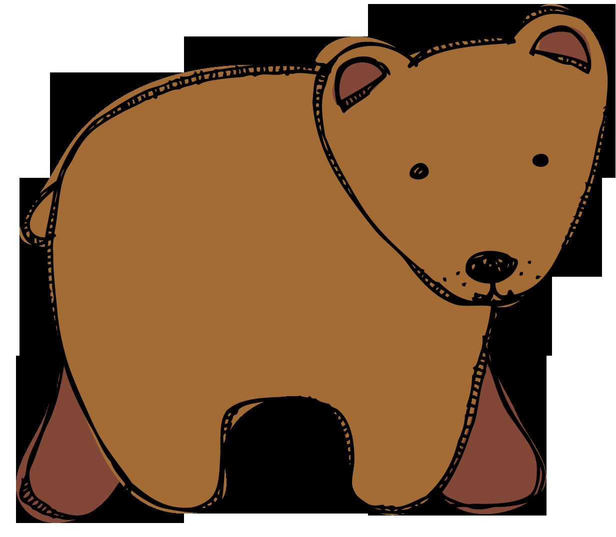 Brown Bear clipart book Bear bear clipart book Brown