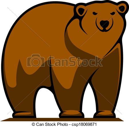 Brown Bear clipart drawn Bear Brown  Clipart Drawing
