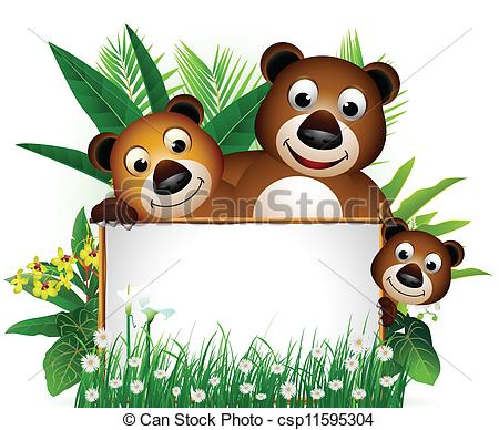 Brown Bear clipart funny bear Funny bear of  brown
