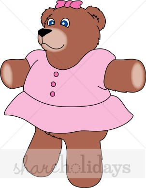 Larger clipart mother bear Bear Pink Christmas in Teddy