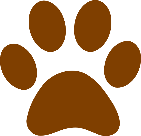 Brown Bear clipart mean Free Grizzly grizzly%20bear%20paw%20print%20clipart Paw Clipart