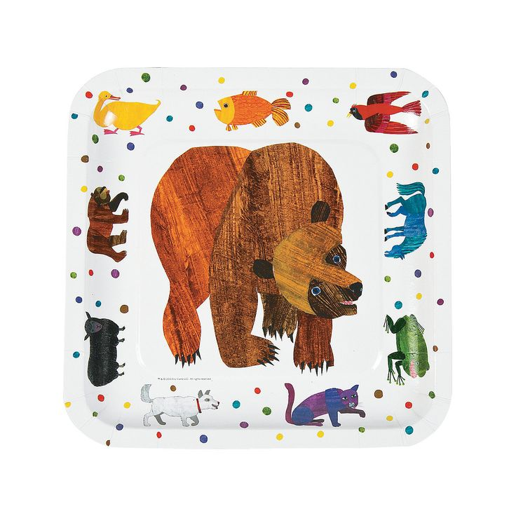 Brown Bear clipart sun bear Bear 736x736 brown Carle 69KB