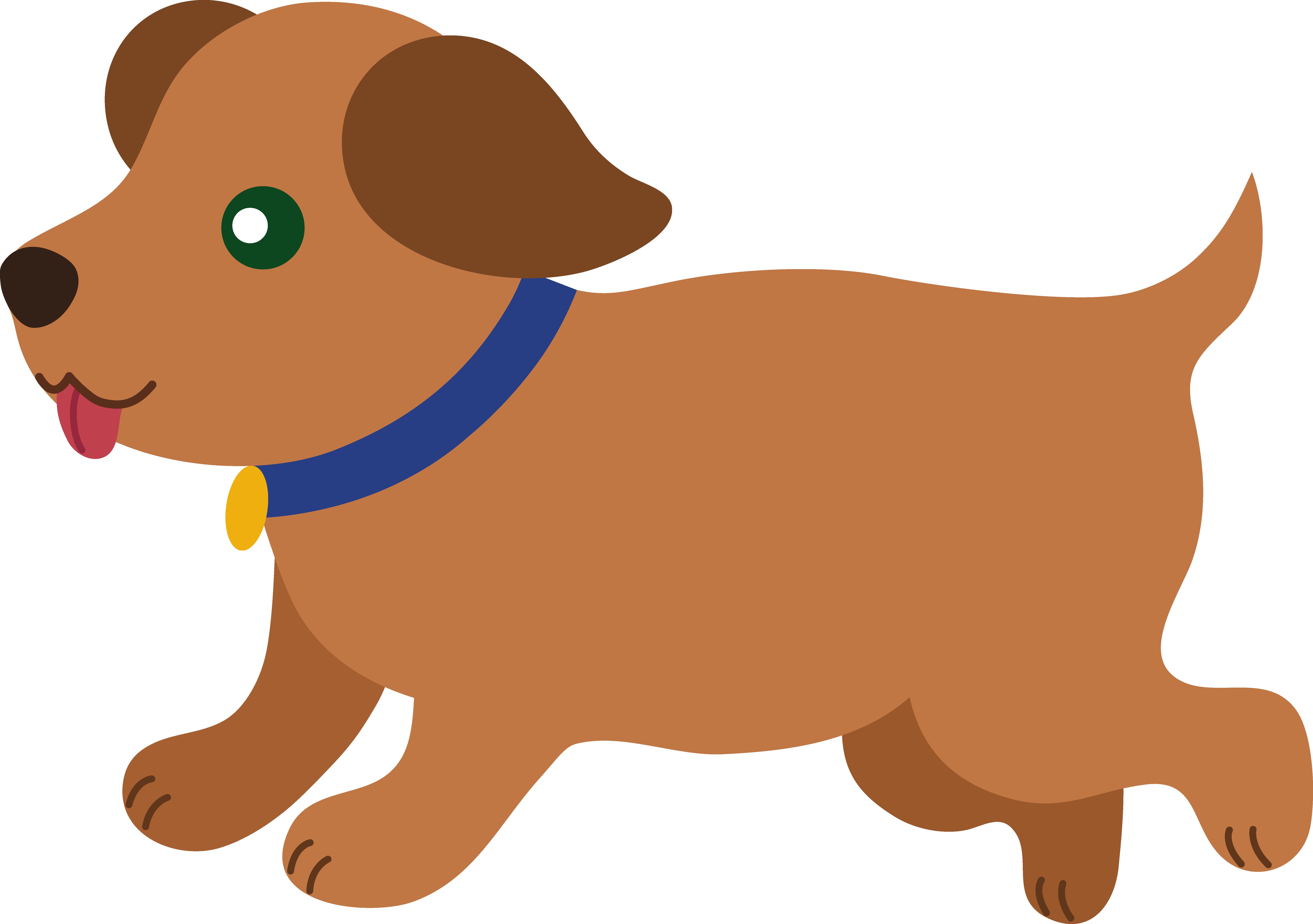 Animl clipart brown dog #7