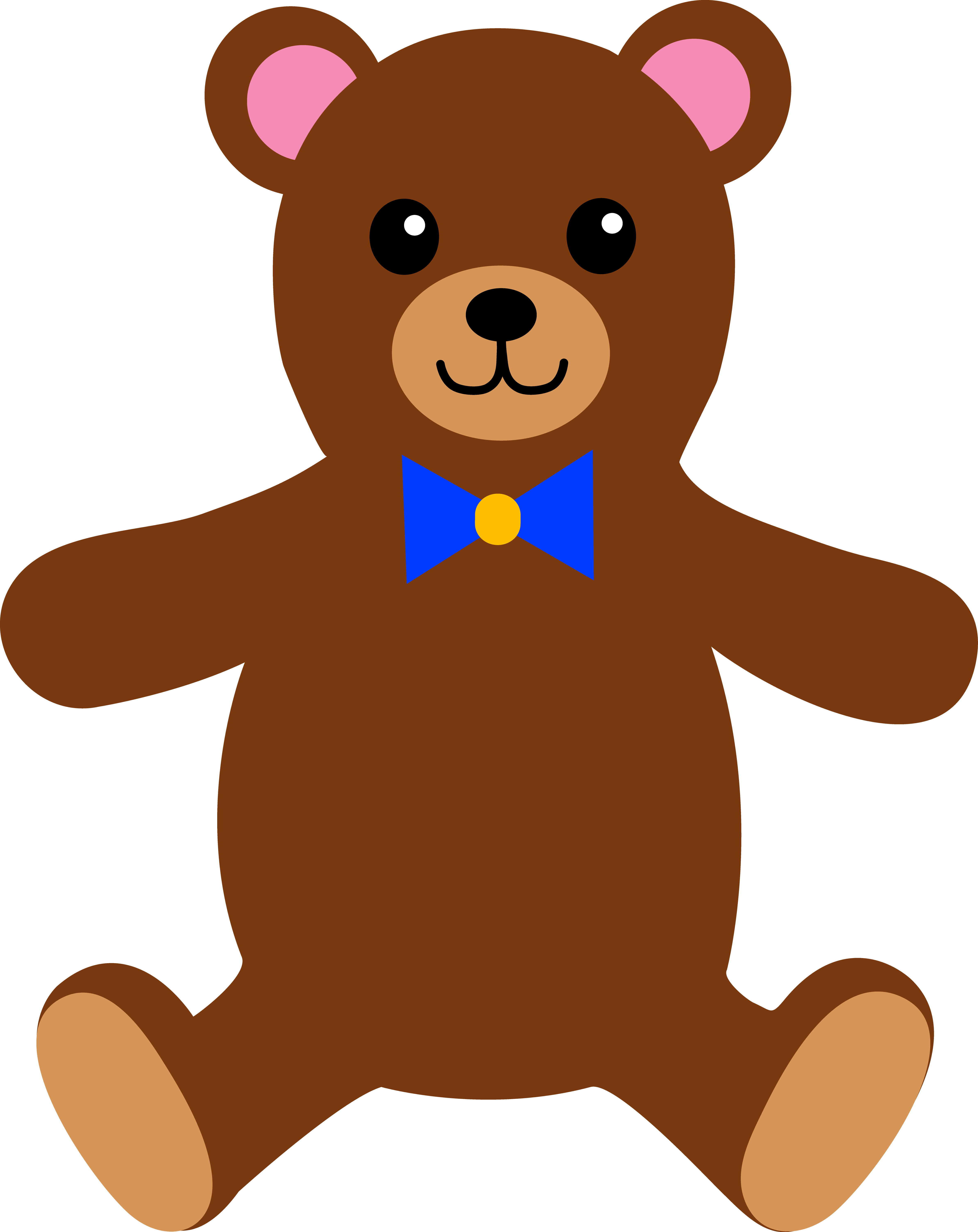 Teddy clipart Bears Brown Brown Teddy Clipart