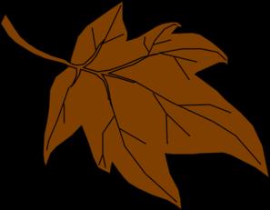 Brown clipart Fall Images Brown Autumn%20Leaf%20Clip%20Art Leaf