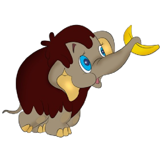 Brown clipart baby elephant Elephants Elephant Baby Cartoon Elephant