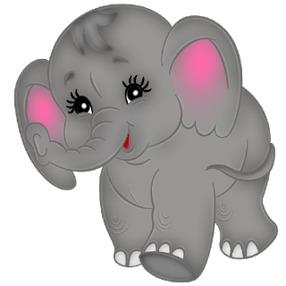 Brown clipart baby elephant Baby Brown Elephants  Images