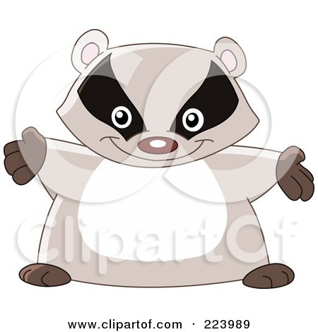 Brown clipart badger Badger Top Clipart Clipart Free