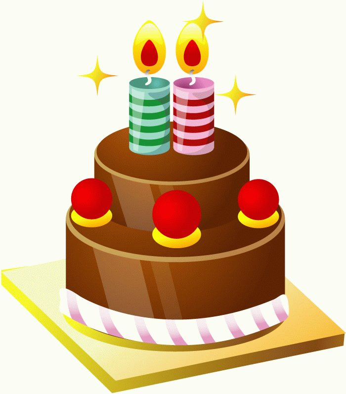 Brown clipart birthday cake Clip Lowrider Free Car Art