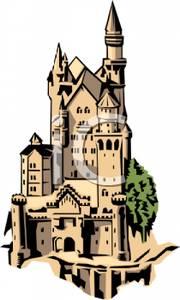 Brown clipart castle Art Tall Art Tall A