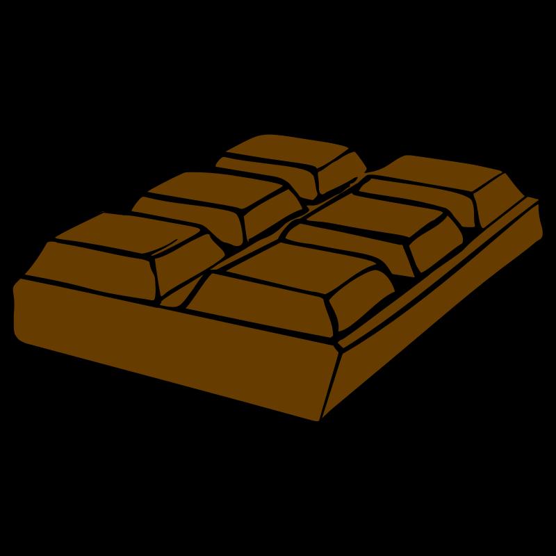 Candy Bar clipart different Clip Art Chocolate Bar Clip