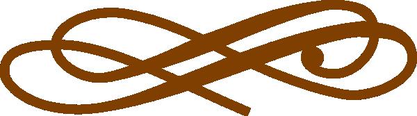 Brown clipart divider  at Clip Brown vector