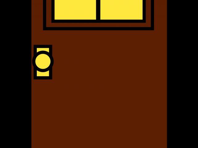 Brown clipart gate Art  School Doors For
