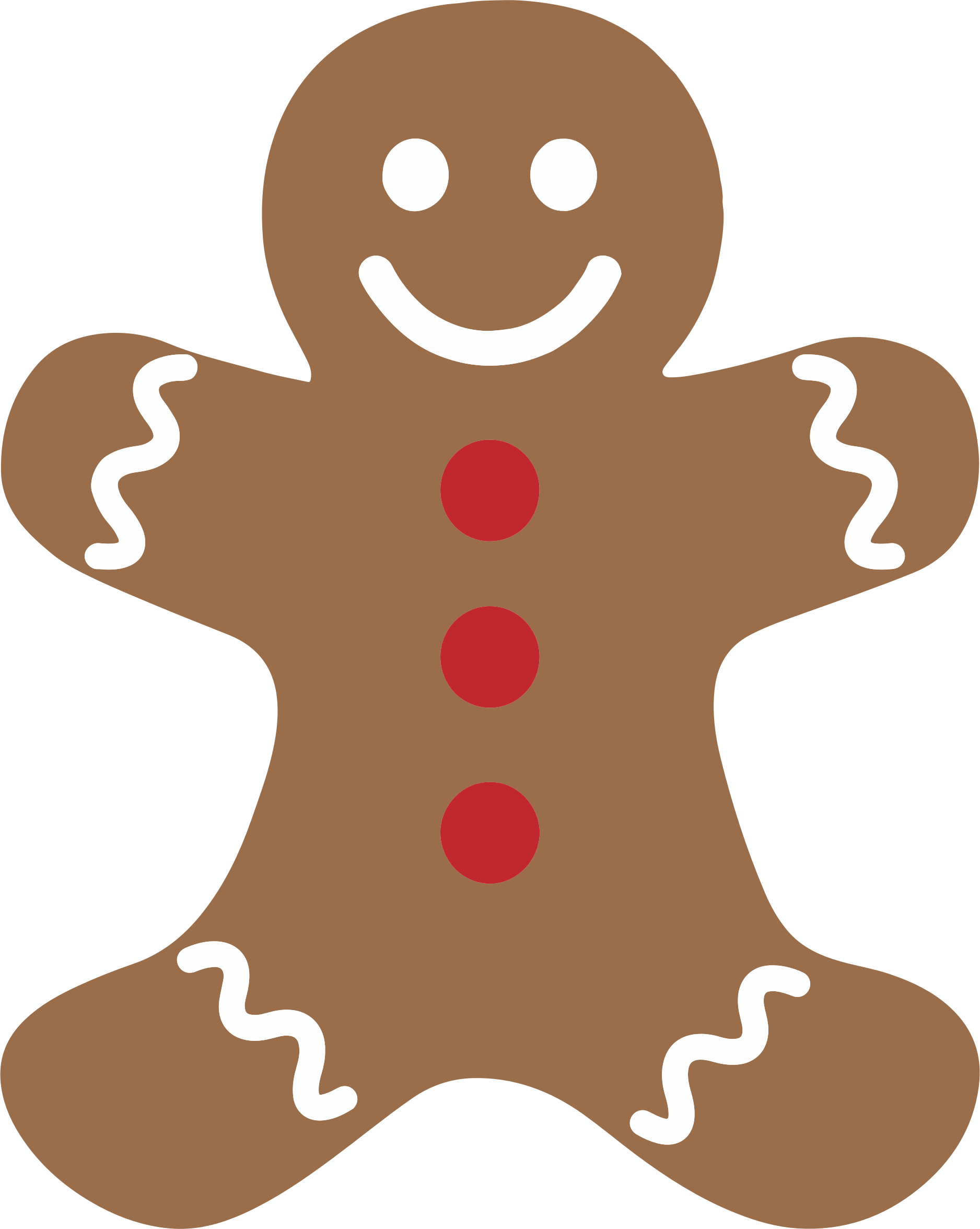 Brown clipart gingerbread man Clipart Cliparting 2 art clip