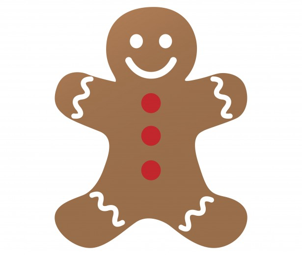 Brown clipart gingerbread man  Pictures Domain Man Photo