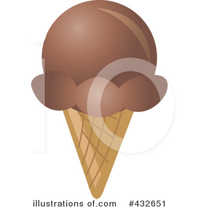 Ice Cream clipart brown Cone by Clipart (RF) Free