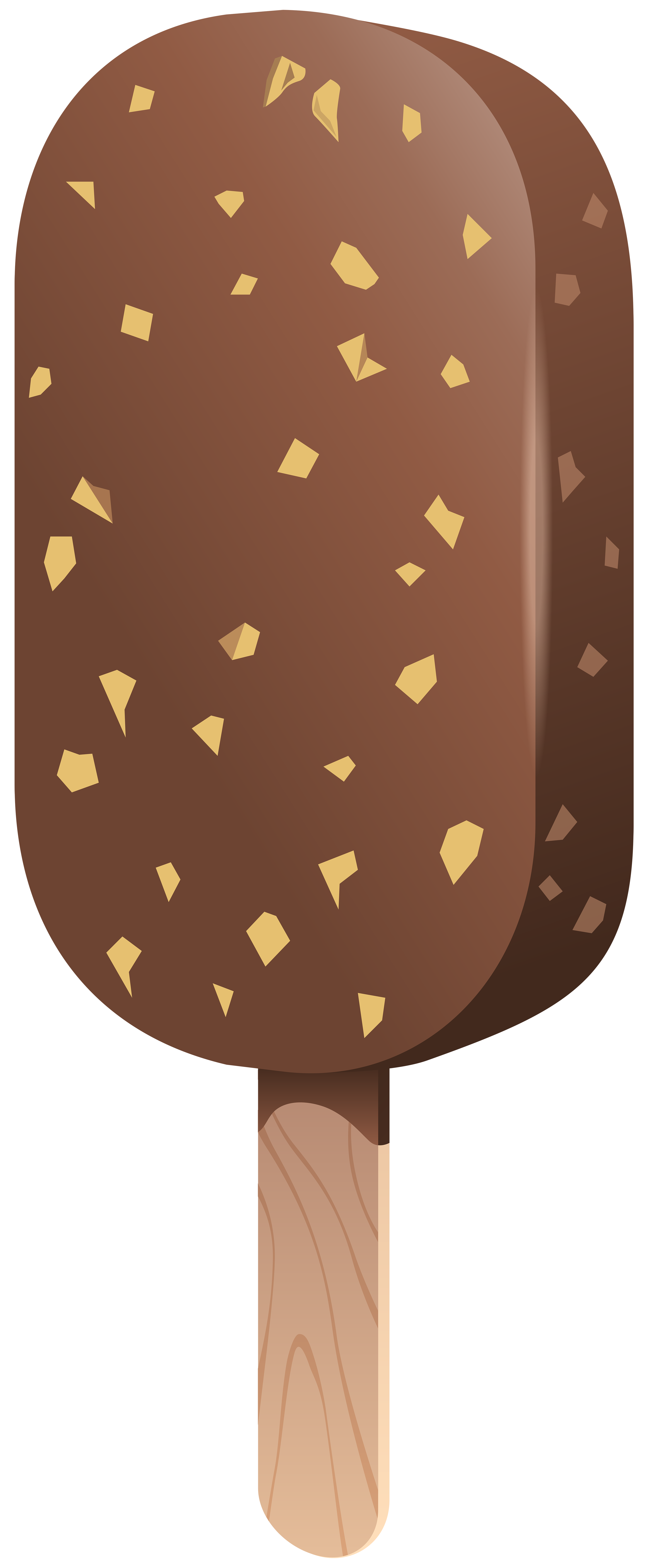 Ice Cream clipart brown Stick Yopriceville size full PNG