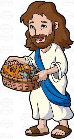 Sandal clipart jesus Basket Carrying Cartoon Clipart Riding