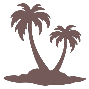 Brown clipart palm tree Png Craftwell 478 POPS165