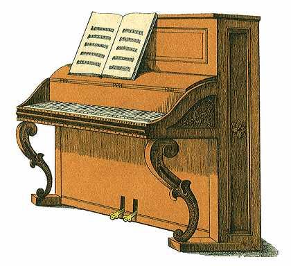 Brown clipart piano Clipart Image clipart clipart piano