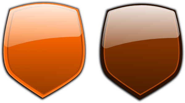 Brown clipart shield Download  image at Brown