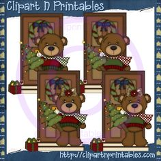 Brown clipart sled On #ResellableClipart Christmas Doors clipart