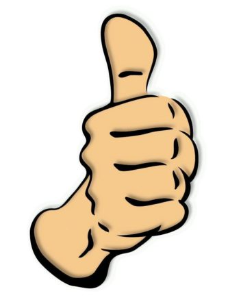 Brown clipart thumbs up « Thumbs Brown Up Clipart