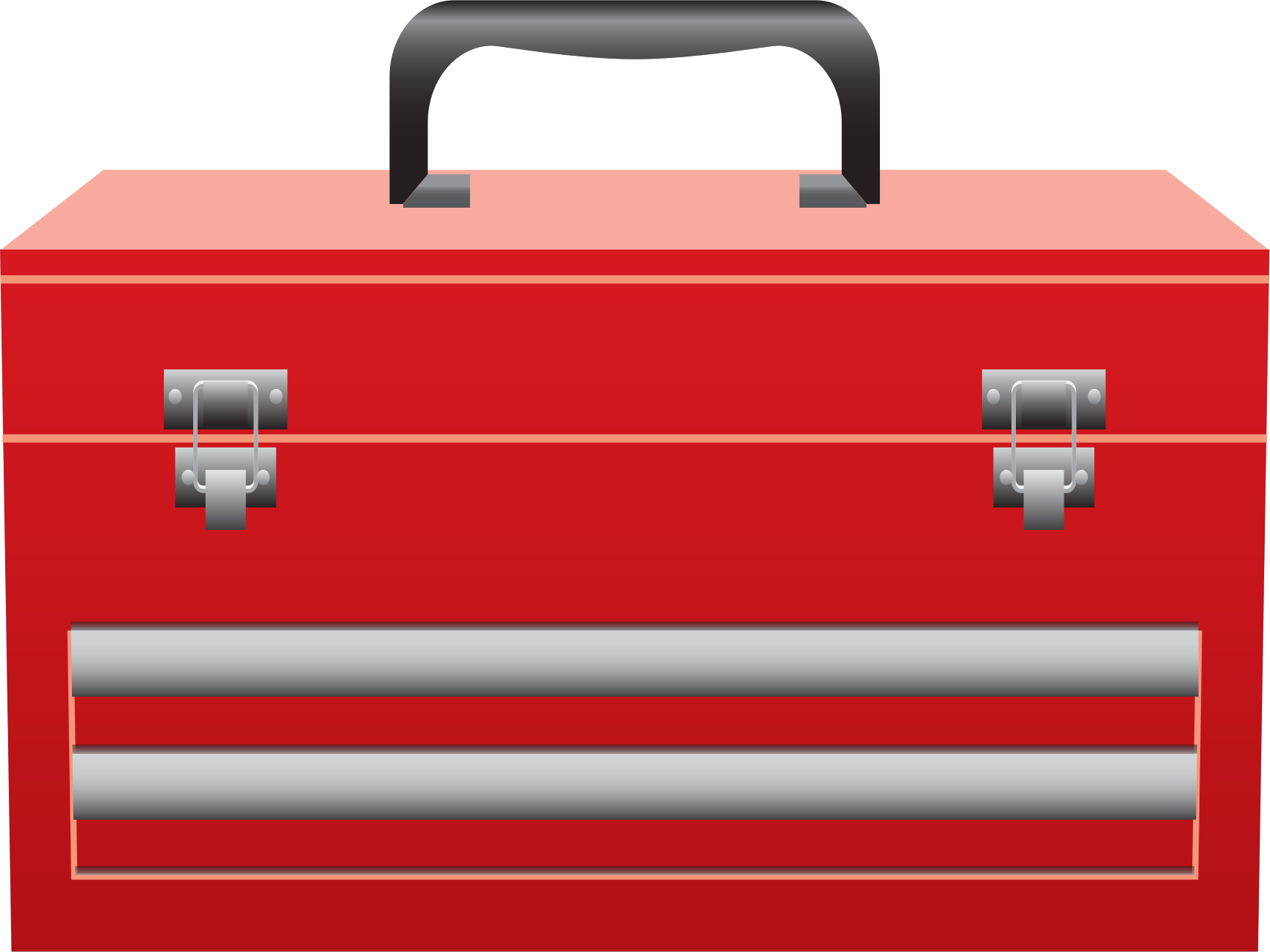 Brown clipart toolbox Clipart Toolbox red art clip