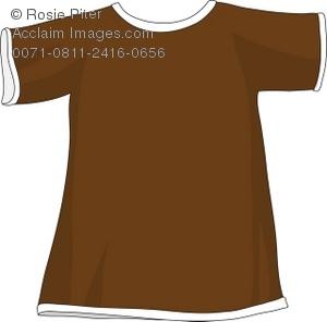 Brown clipart tshirt Illustration Shirt Clipart Illustration Brown