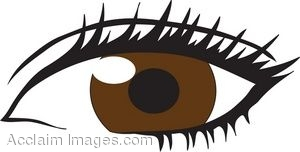 Brown Eyes clipart Panda Female Clipart Eyes Images
