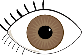 Brown Eyes clipart Eyes art image eyes #7649