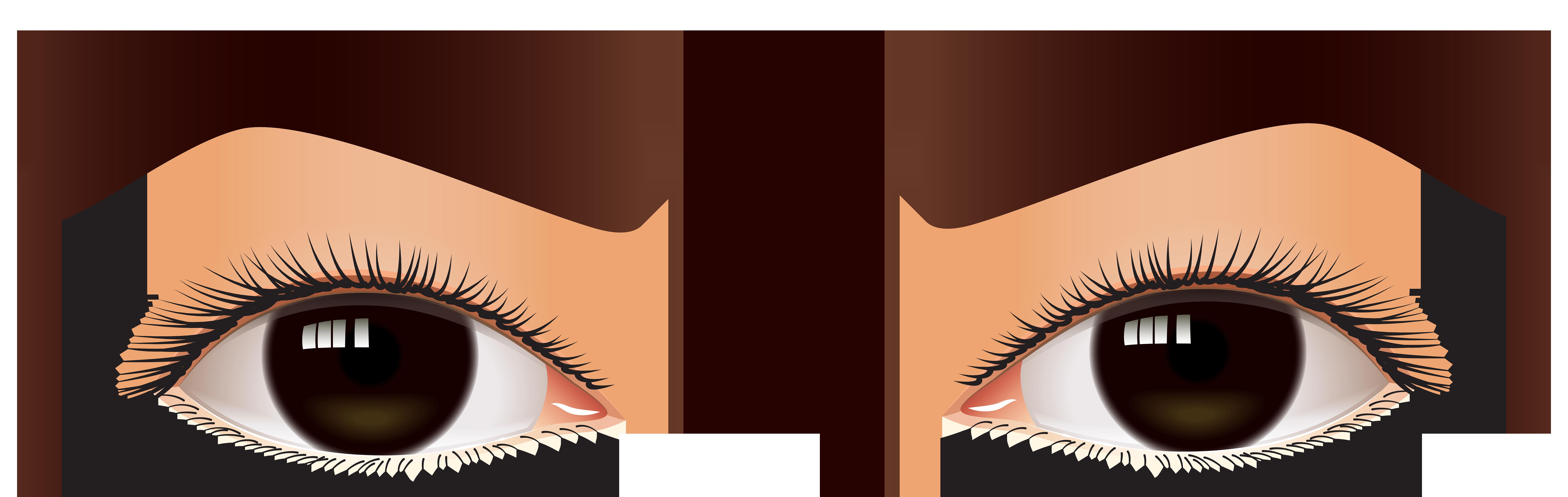 Brown clipart brown eye Clipart Eyes drawings Brown Brown