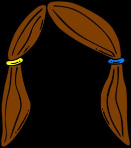 Brown Hair clipart Vector  Hair Clker at