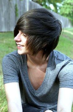 Brown Hair clipart emo hair Cute guys11 alternative for jpg