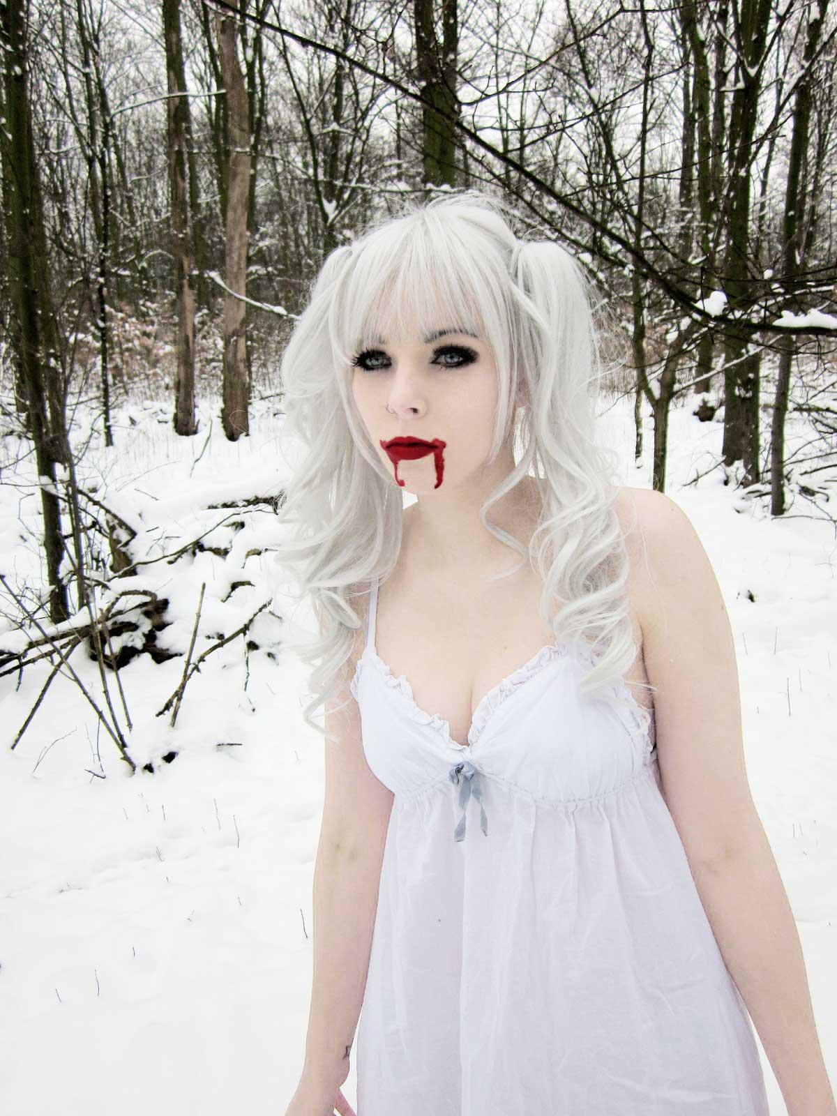 Brown Hair clipart emo hair Scene vampira emo ira gothic