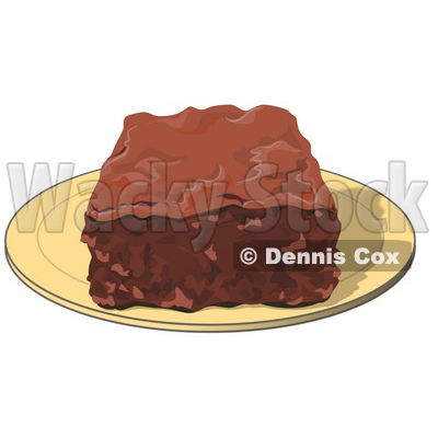 Brownie clipart square cake Clip 500x261 21KB Clipart