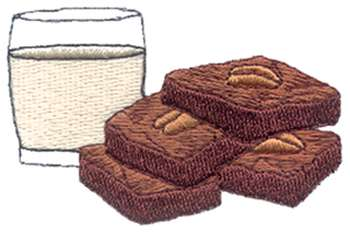 Brownie clipart square cake Clip Girl Clipart Brownie