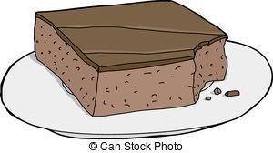 Brownie clipart vanilla cupcake 553 chocolate  vector Mark