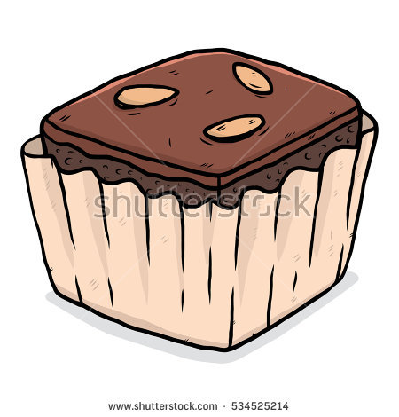 Brownie clipart cartoon Banco Clipart brownies imagens collection
