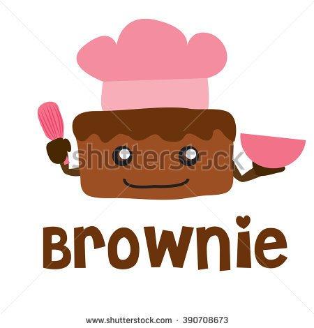 Brownie clipart cartoon · BROWNIES BANANA CLIPART logo
