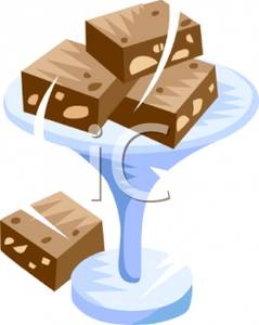 Brownie clipart cartoon Image: Clipart brownies with collection