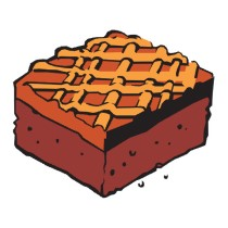 Brownie clipart cartoon Clip Clipart brownies Clipart collection