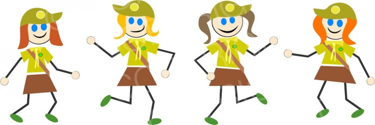 Brownie clipart cartoon Cartoons Clipart  Girls Prawny