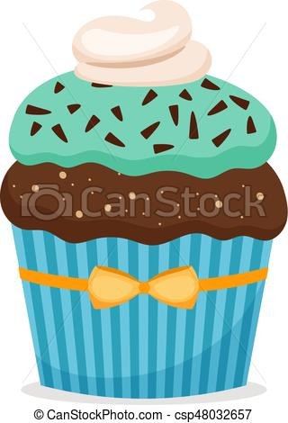Brownie clipart cupcake With cupcake csp48032657 with Brownie