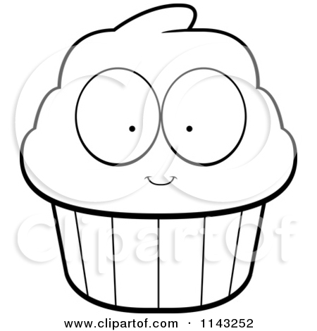 Brownie clipart cupcake Clipart Images White Clipart Black