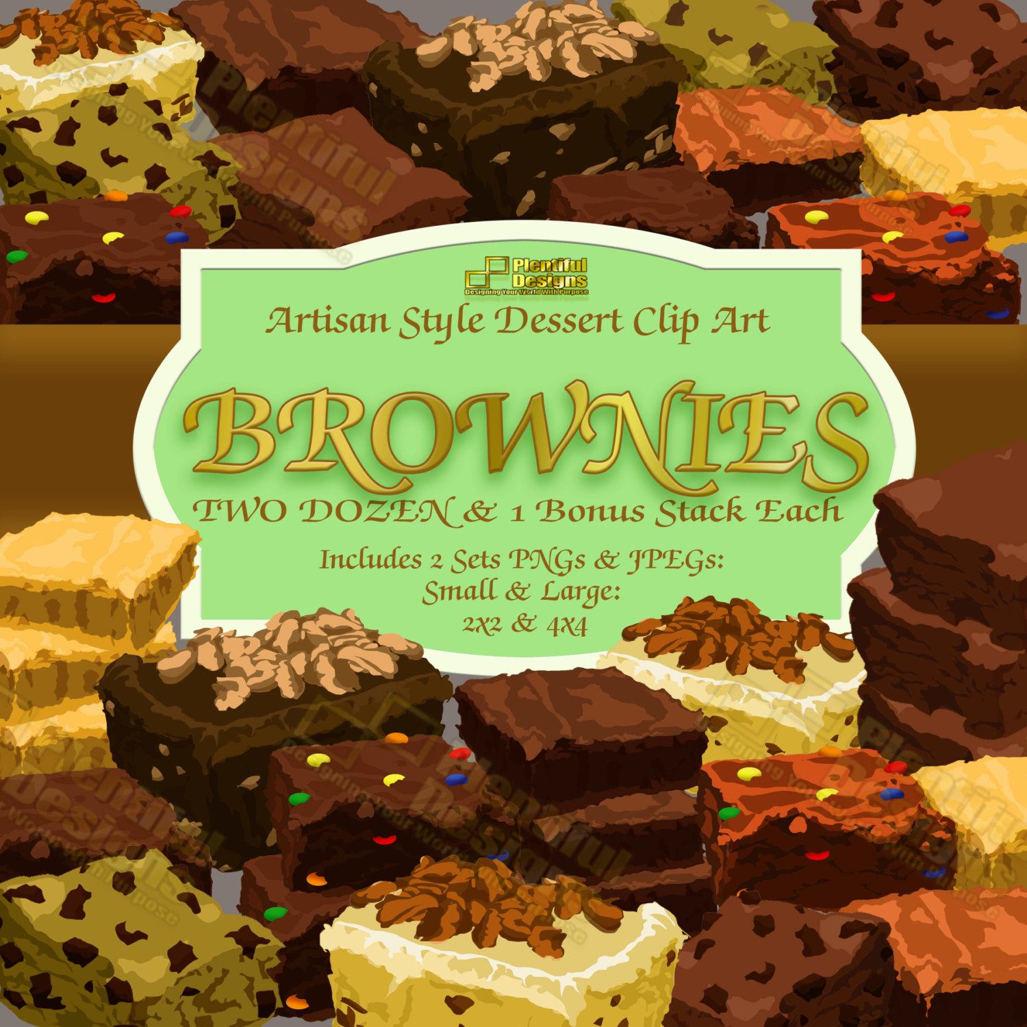 Brownie clipart food File This a Art/Chocolate Art/Bake